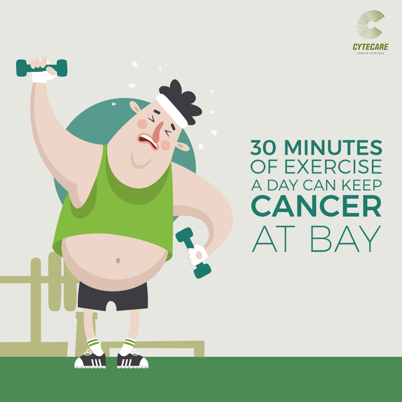 Thirty Minutes of Exercise A Day Can Keep Cancer At Bay