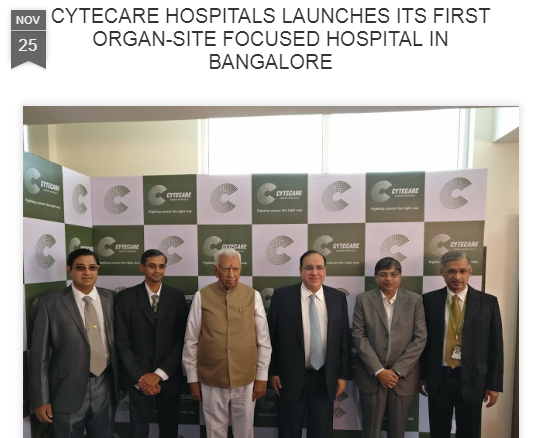 Cytecare Hospital launches first organ-site focused hospital in Bengaluru