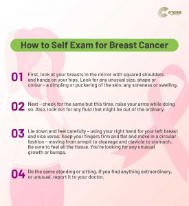 Breast Self Exam at Home
