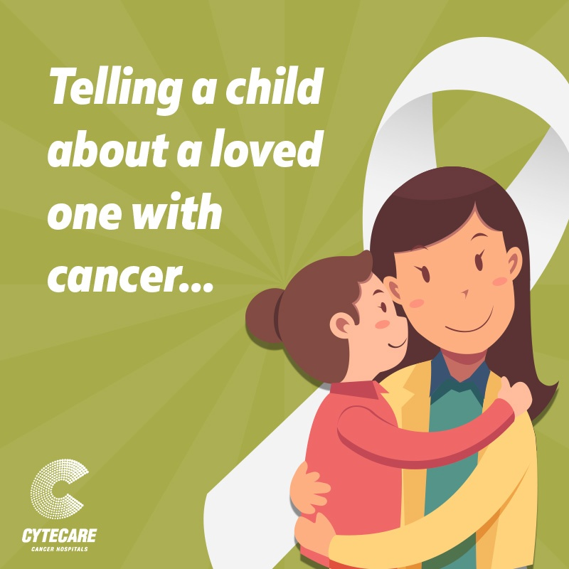 Cancer talk with child