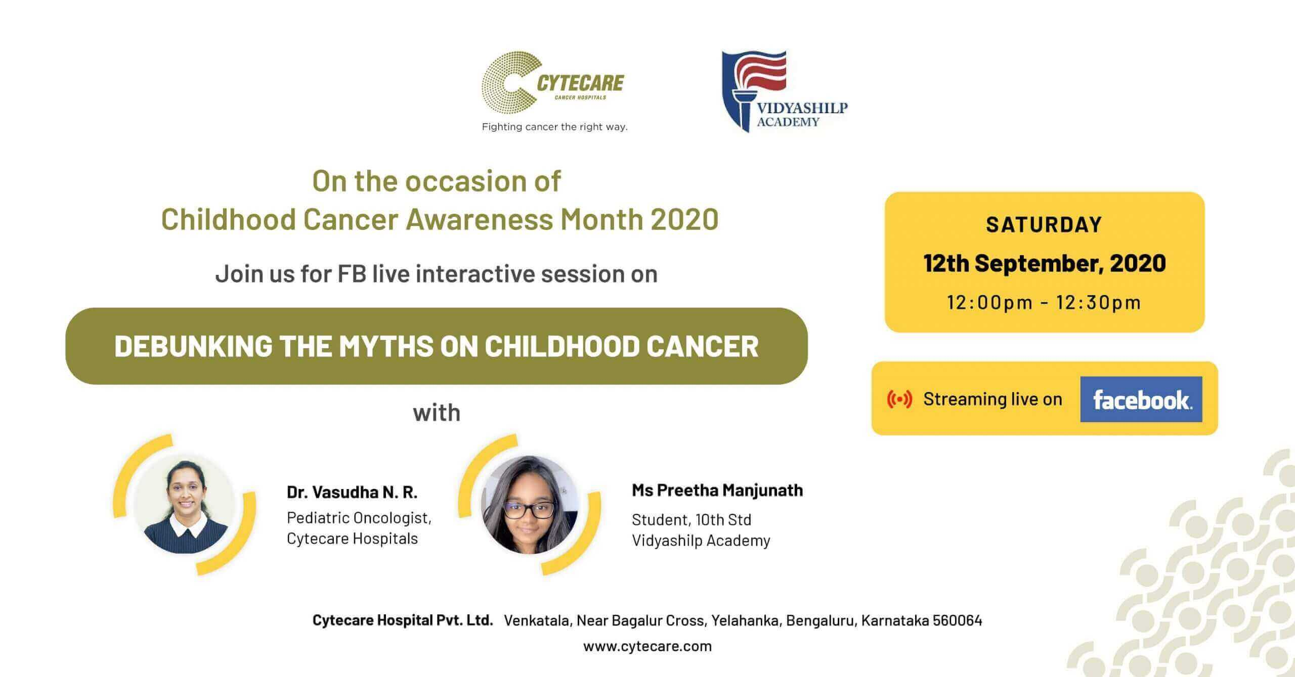 Debunking The Myths on Childhood Cancer with Cytecare