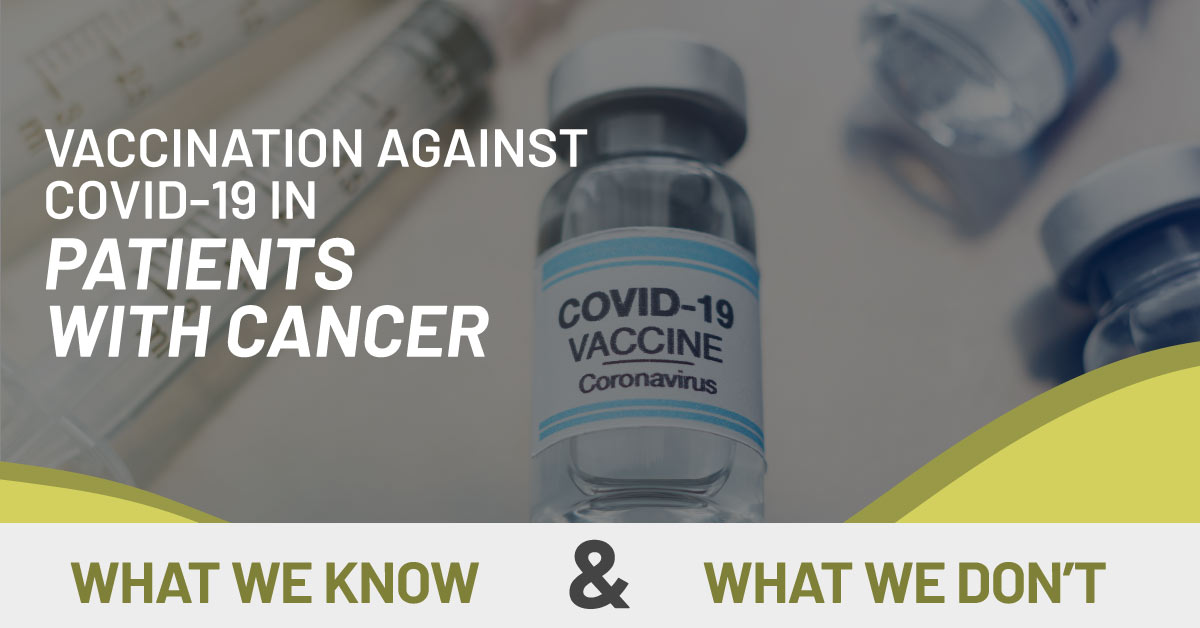 Covid 19 vaccine for cancer patients
