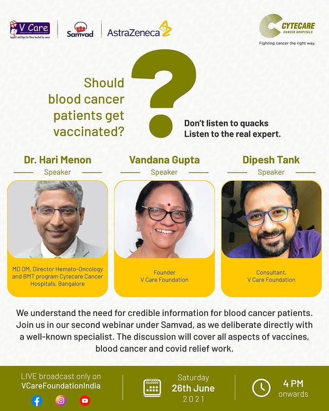 Fight the cancer of misinformation and myths