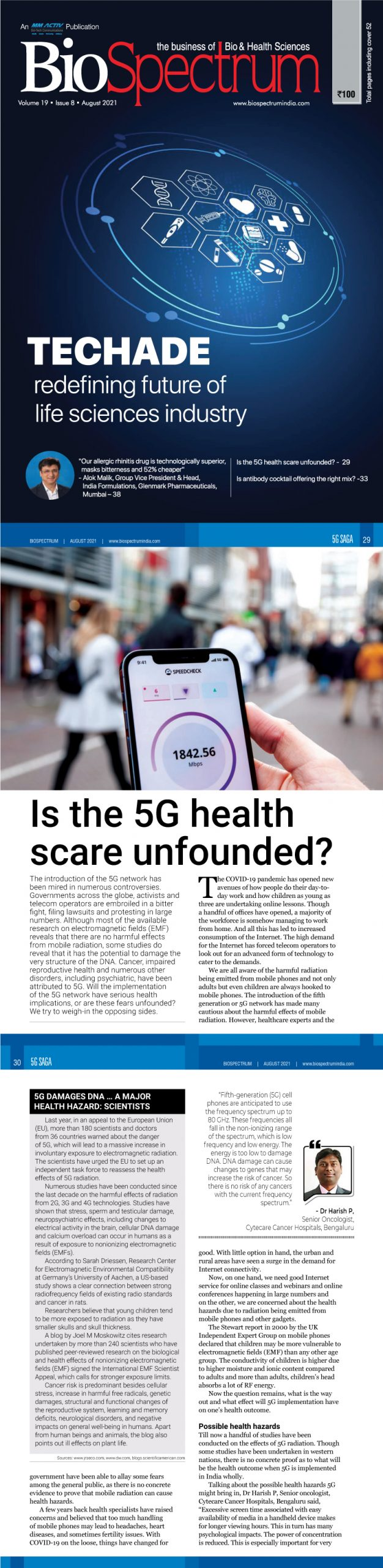 Is the 5G health scare unfounded?